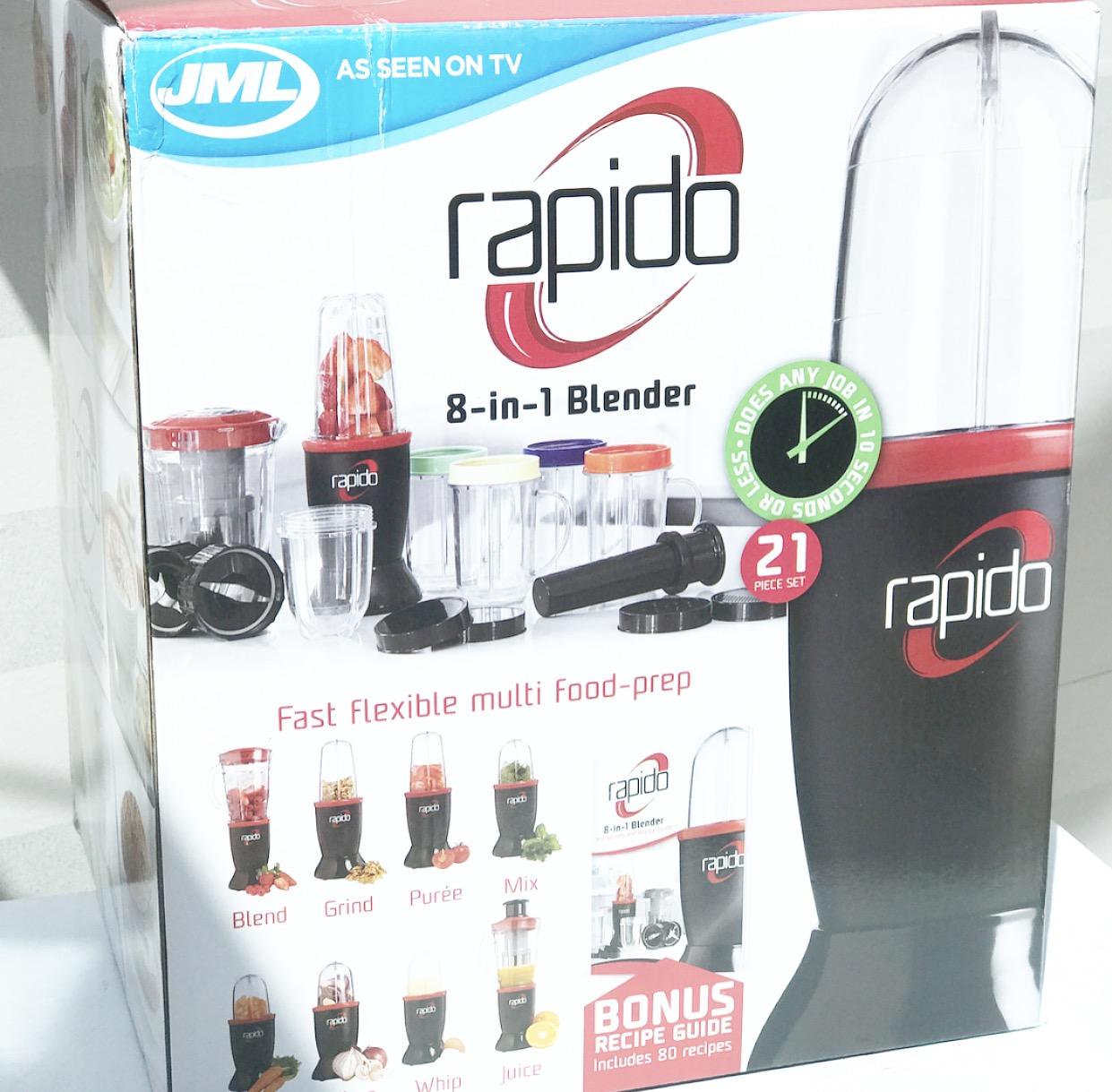 rapido 8 in 1 blender