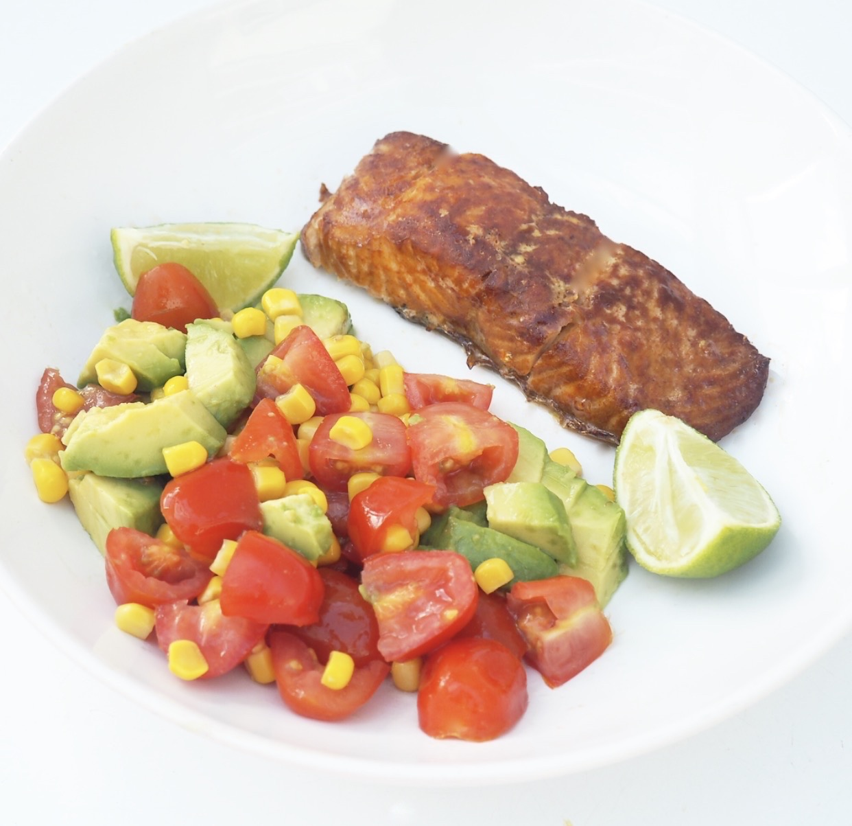 Mexican Salmon Salad