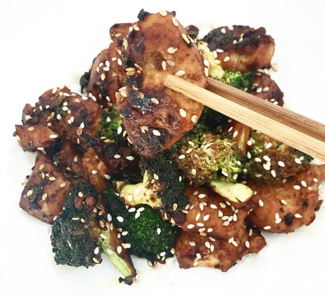 Sticky Sesame Chicken Recipe
