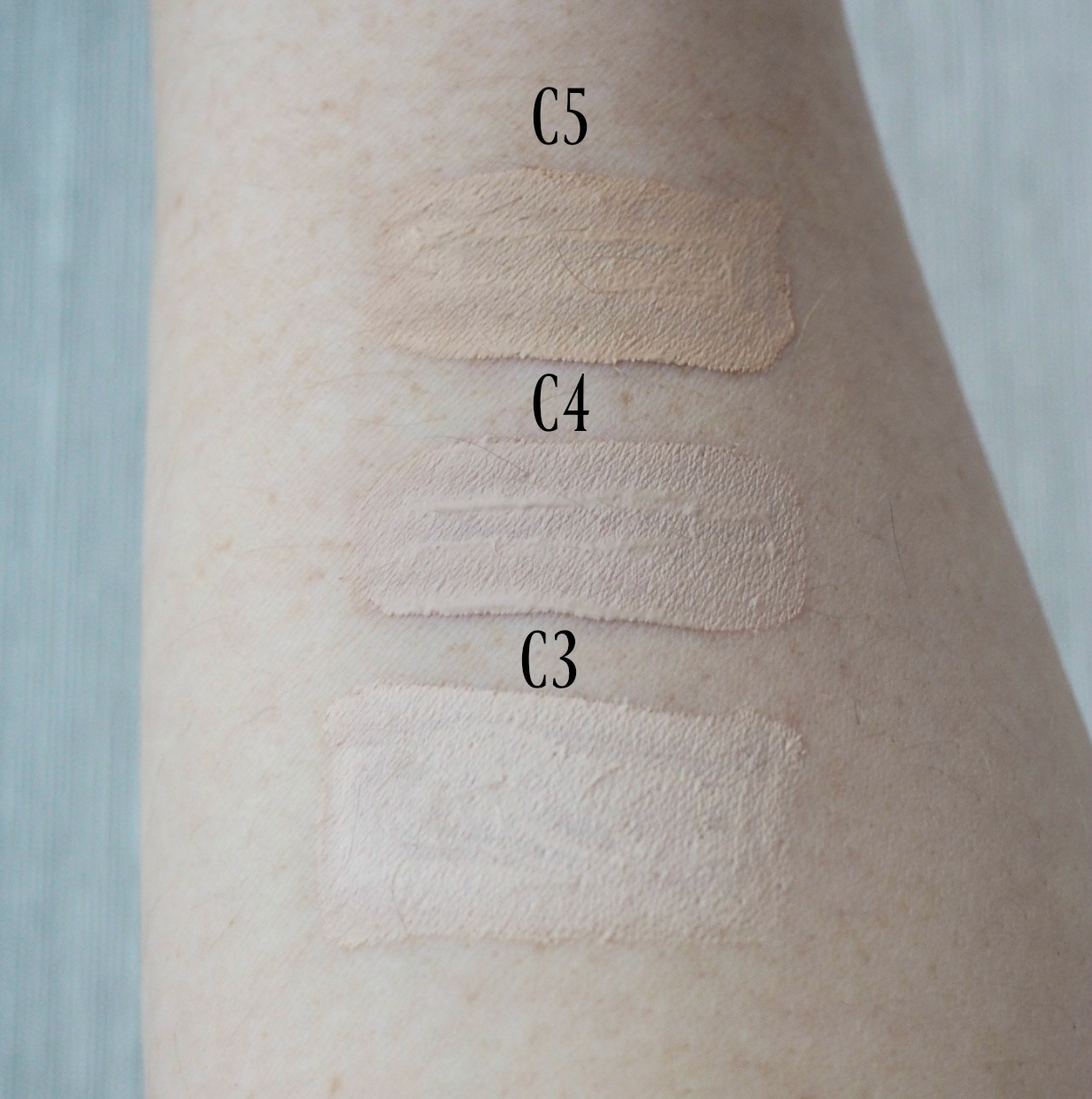 Makeup revolution concealer swatches c3