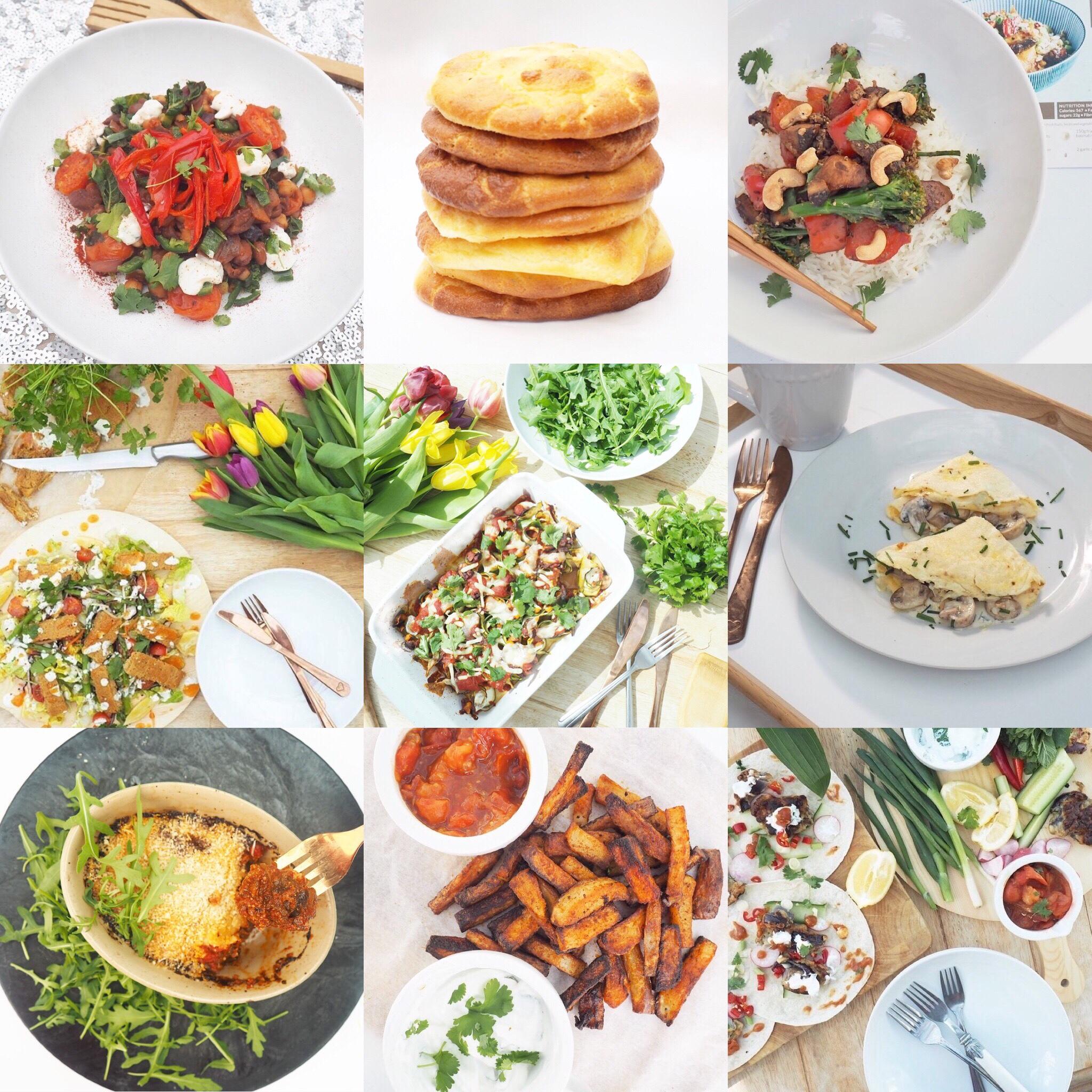 Vegetarian Recipe Ideas