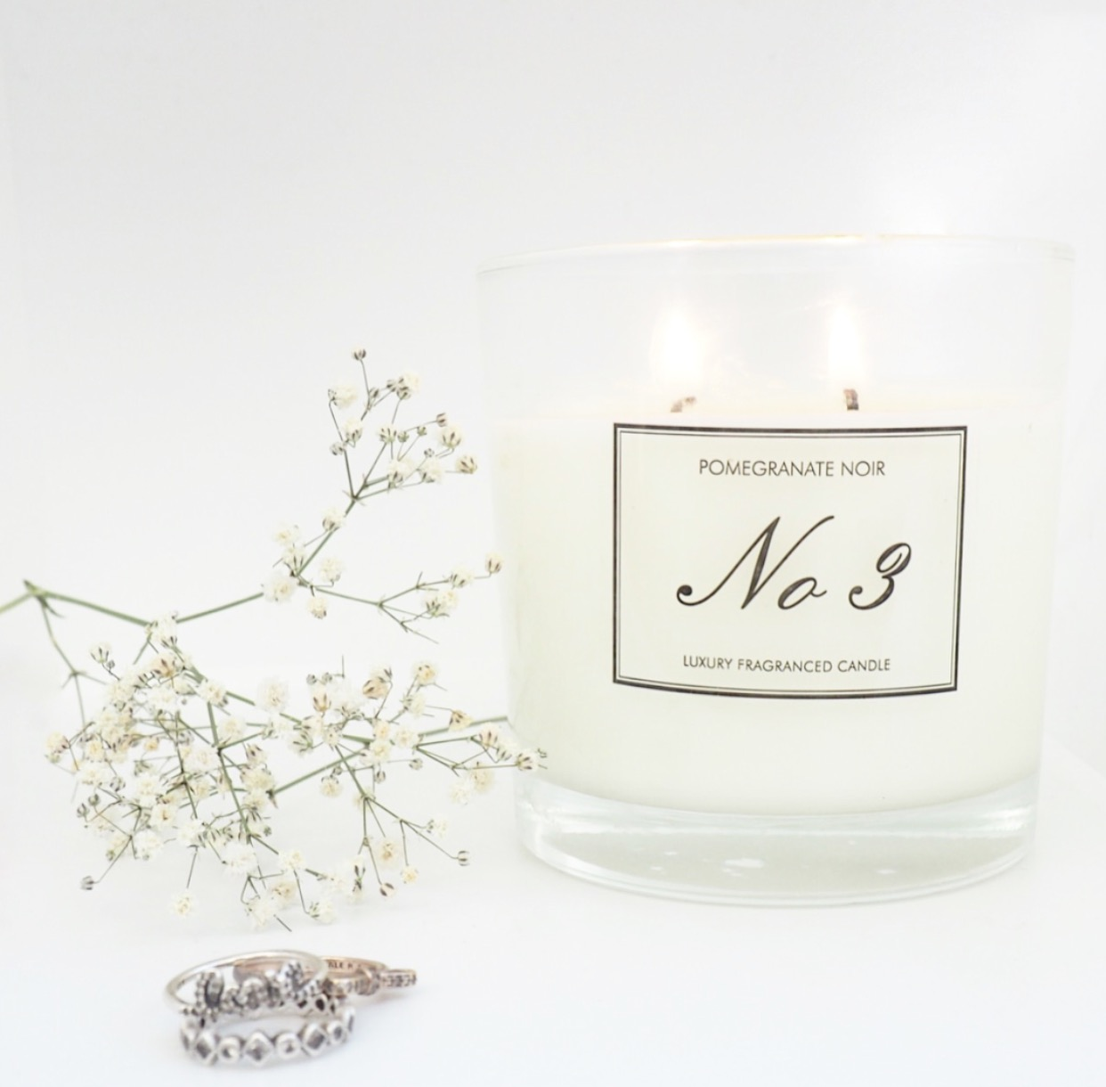 Aldi No 3 Pomegranate Noir Luxury Fragranced Candle Review