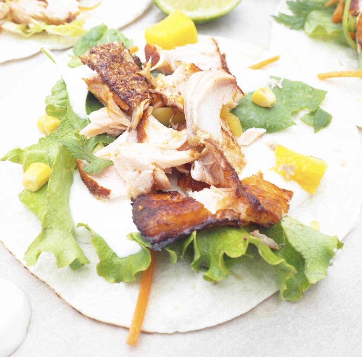 Smoky Salmon & Paprika Wrap Recipe