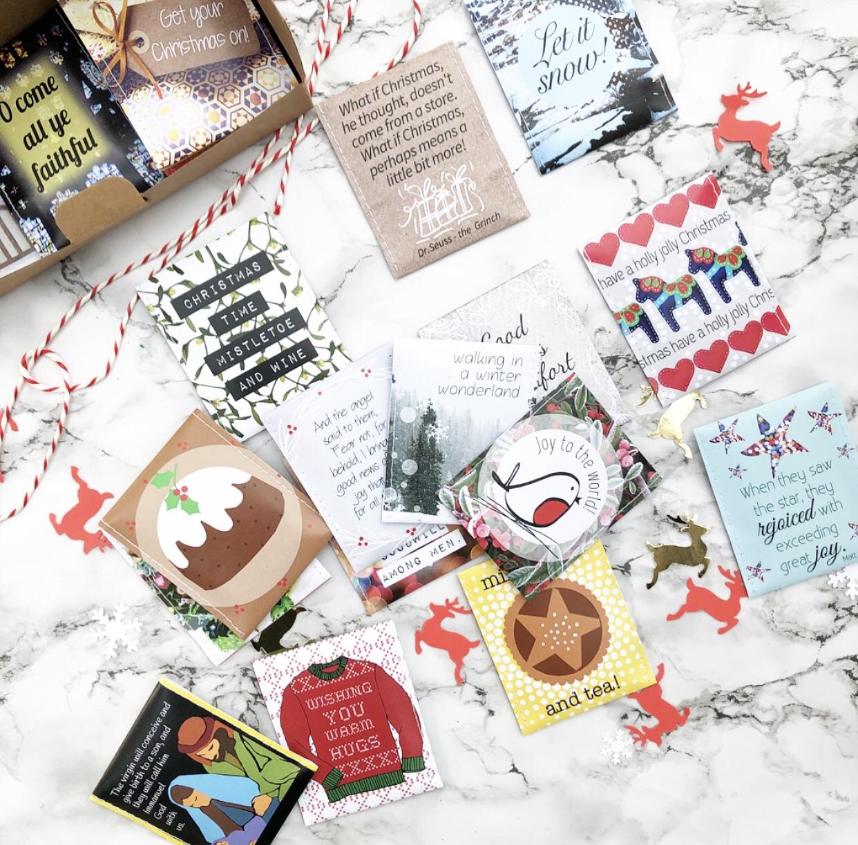 *Victoria Mae Designs Tea Advent Calendar